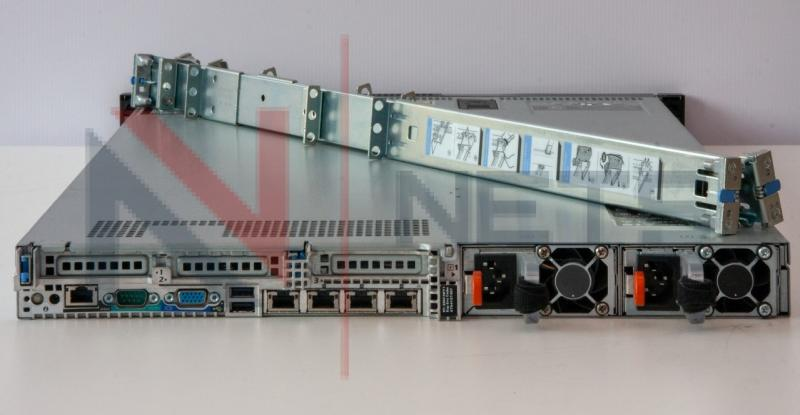 Сервер Dell PowerEdge R620 (2xE5-2680/128GBDDR3/RAID/iDRAC7/4x1Gb/2x(495Wили750W))