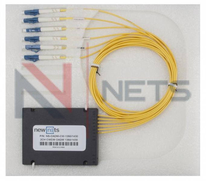 Модуль Add/Drop 2CH CWDM 1G/10G 1350/1430, ABS Box