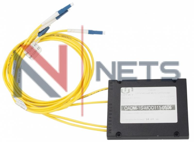 Модуль Add/Drop 1CH CWDM 1G/10G 1270/1290, ABS Box