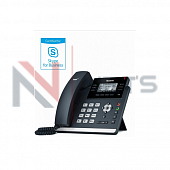Телефоны для Skype Yealink SIP-T41S, Skype for Business, PoE, без БП